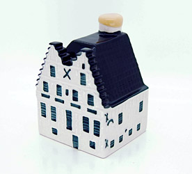 KLM blue delft house number 87