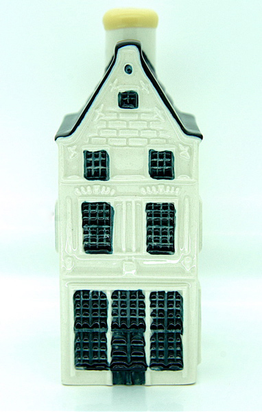 Blue Delft House No. 8 - Amsterdam