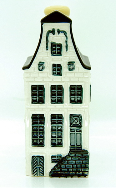 Blue Delft House No. 9 - Amsterdam