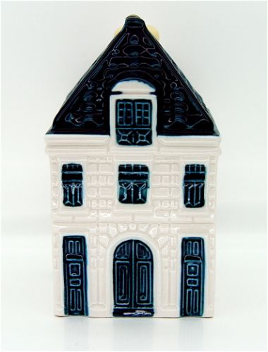Blue Delft House No. 64 - Amsterdam