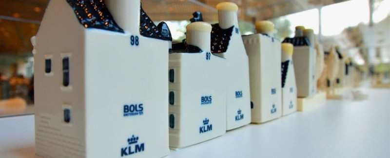 KLM Dutch Houses ‐ Buy KLM Delft Blue Miniature Houses